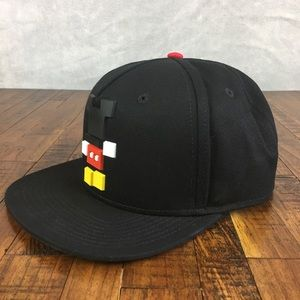 97985003e3d Neff Accessories - NEW NEFF Disney Mickey Mouse Blocks Hat Snapback